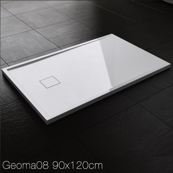 design duschtasse duschwanne brausewanne duschwanne mineralguss geoma08 ebay. Black Bedroom Furniture Sets. Home Design Ideas