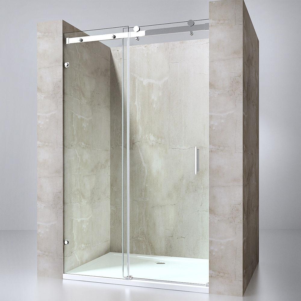 dusche duschkabine faltt r echtglas duschabtrennung eckeinstieg duschwand rav26 ebay. Black Bedroom Furniture Sets. Home Design Ideas