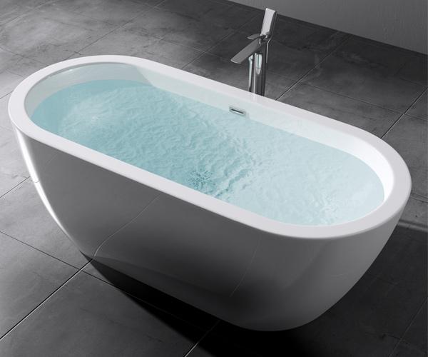 freistehende badewanne acryl wanne standbadewanne 180 x 80 cm vicenza501 neu ebay. Black Bedroom Furniture Sets. Home Design Ideas