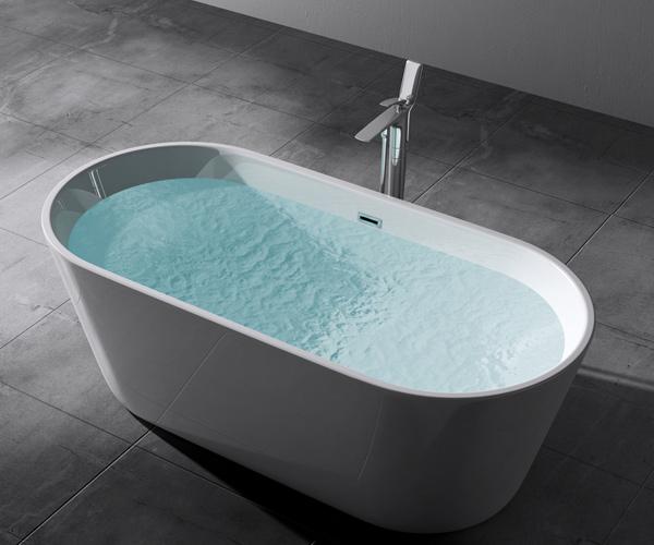 freistehende badewanne oval acryl wanne standbadewanne. Black Bedroom Furniture Sets. Home Design Ideas