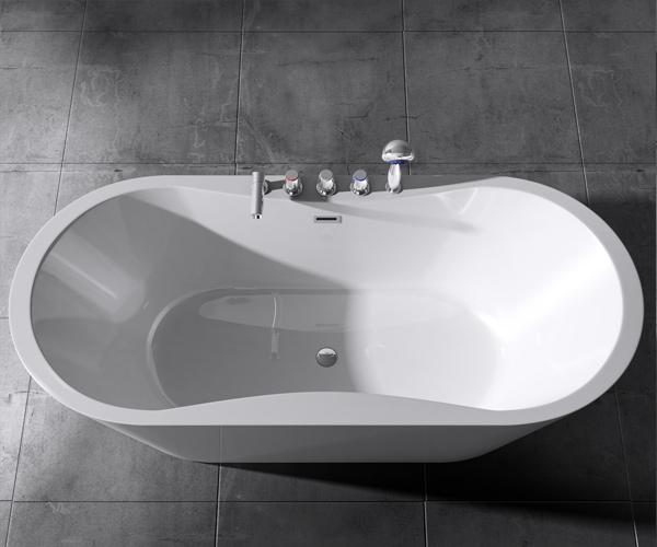 freistehende badewanne wanne standbadewanne armatur 180 x. Black Bedroom Furniture Sets. Home Design Ideas