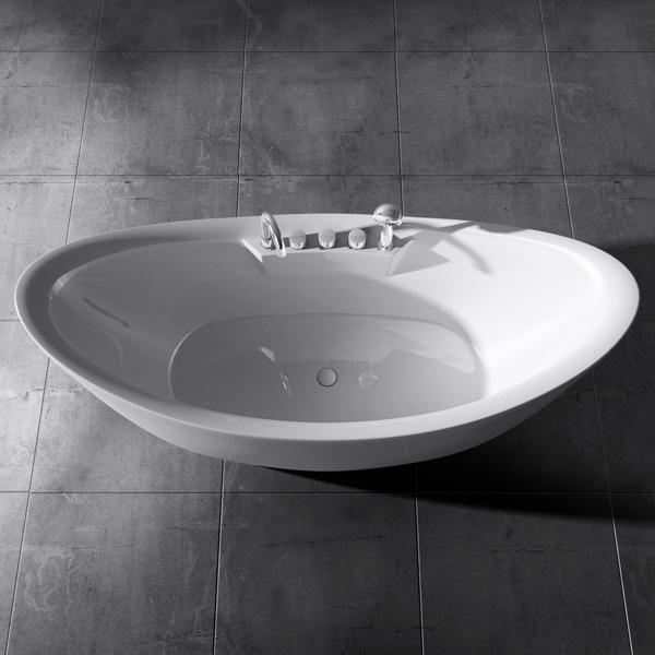 design badewanne freistehende wanne standbadewanne armatur 186 x 80 vicenza603 4251242929161 ebay. Black Bedroom Furniture Sets. Home Design Ideas