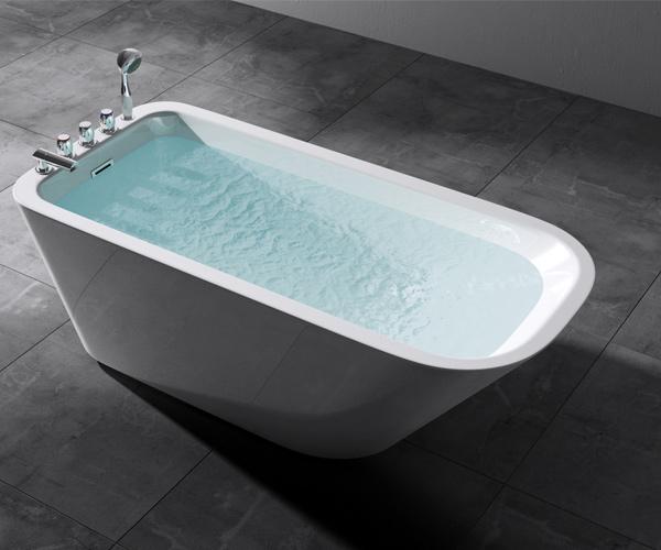 freistehende badewanne acryl wanne standbadewanne armatur 170 x 78 vicenza604 ebay. Black Bedroom Furniture Sets. Home Design Ideas