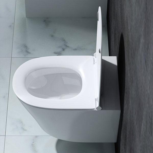 edle design toilette h nge wc mit silent close sitz aachen502 wei keramik ebay. Black Bedroom Furniture Sets. Home Design Ideas