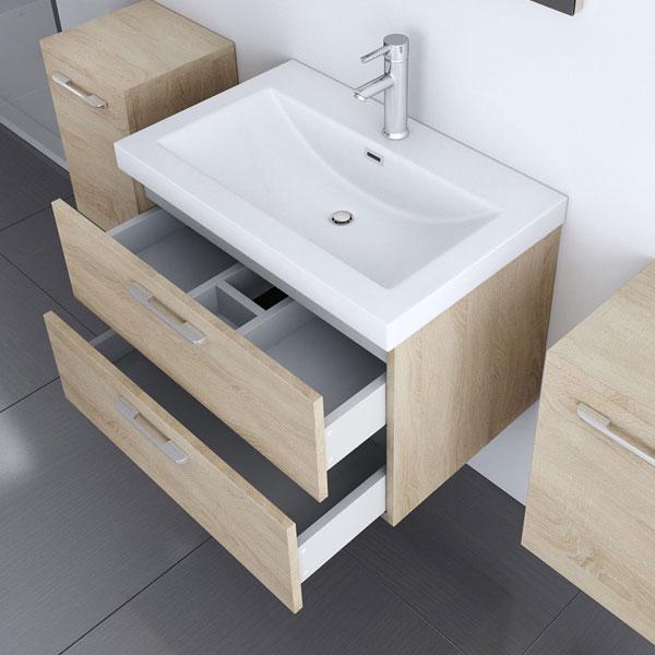 badm bel set waschbecken unterschrank seitenschrank spiegel gussmarmor anthrazit ebay. Black Bedroom Furniture Sets. Home Design Ideas