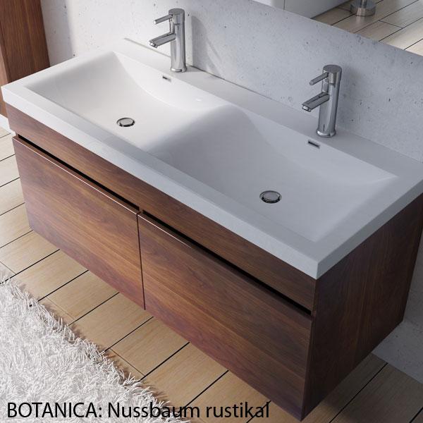 design badm bel badezimmerm bel badezimmer waschbecken waschtisch set botanica ebay. Black Bedroom Furniture Sets. Home Design Ideas