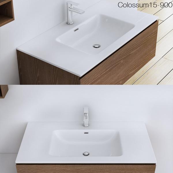 gussmarmor einbau waschbecken waschtisch waschplaz colossum02 ebay. Black Bedroom Furniture Sets. Home Design Ideas