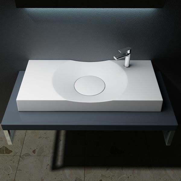 design gussmarmor mineralguss waschbecken waschtisch waschplatz colossum 15r ebay. Black Bedroom Furniture Sets. Home Design Ideas