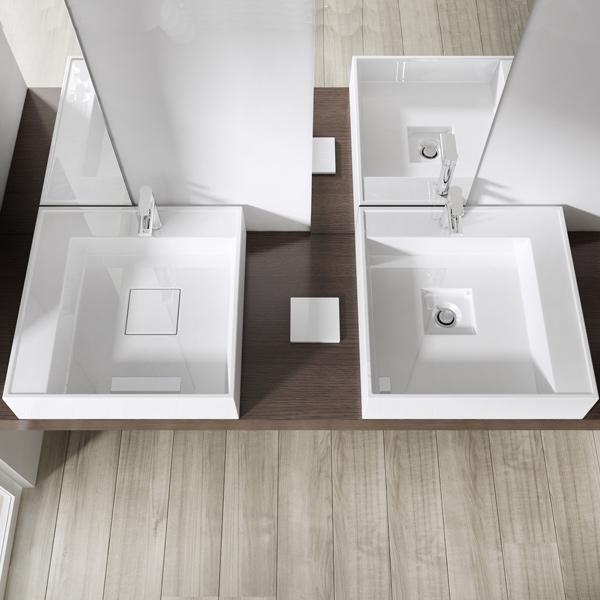 design gussmarmor mineralguss waschbecken waschtisch waschplatz colossum 21 neu ebay. Black Bedroom Furniture Sets. Home Design Ideas
