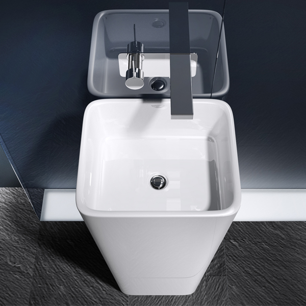 mineralguss waschbecken s ule standwaschbecken waschtischs ule design colossum31 ebay. Black Bedroom Furniture Sets. Home Design Ideas