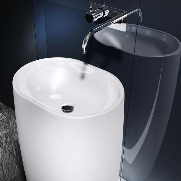 standwaschbecken aus mineralguss waschbecken s ule waschtischs ule colossum32 ebay. Black Bedroom Furniture Sets. Home Design Ideas