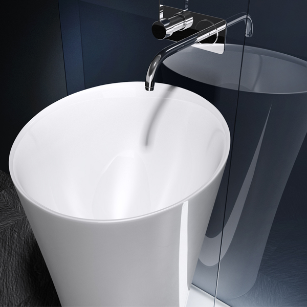 mineralguss waschbecken s ule standwaschbecken waschtischs ule design colossum33 ebay. Black Bedroom Furniture Sets. Home Design Ideas