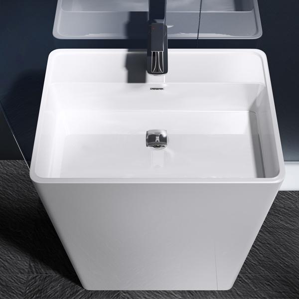 waschs ule stand waschbecken waschtisch s ule design colossum34 aus mineralguss ebay. Black Bedroom Furniture Sets. Home Design Ideas