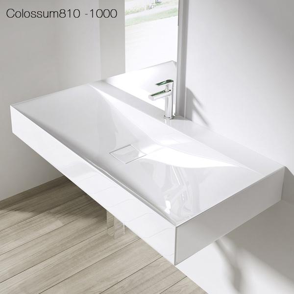 mineralguss aufsatzwaschbecken h ngewaschbecken gussmarmor waschtisch 810 ebay. Black Bedroom Furniture Sets. Home Design Ideas