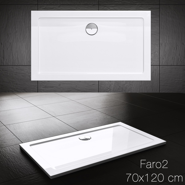 duschtasse duschwanne dusche acrylwanne badezimmer duschbecken faro2 rechteckig dietzenbach. Black Bedroom Furniture Sets. Home Design Ideas