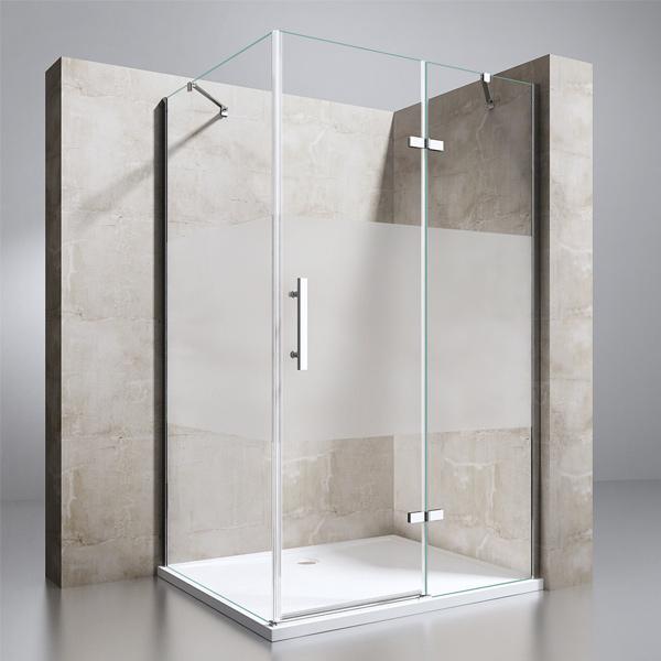 echtglas esg nano duschkabine duschabtrennung dusche duschwand duschtasse r28ms ebay. Black Bedroom Furniture Sets. Home Design Ideas