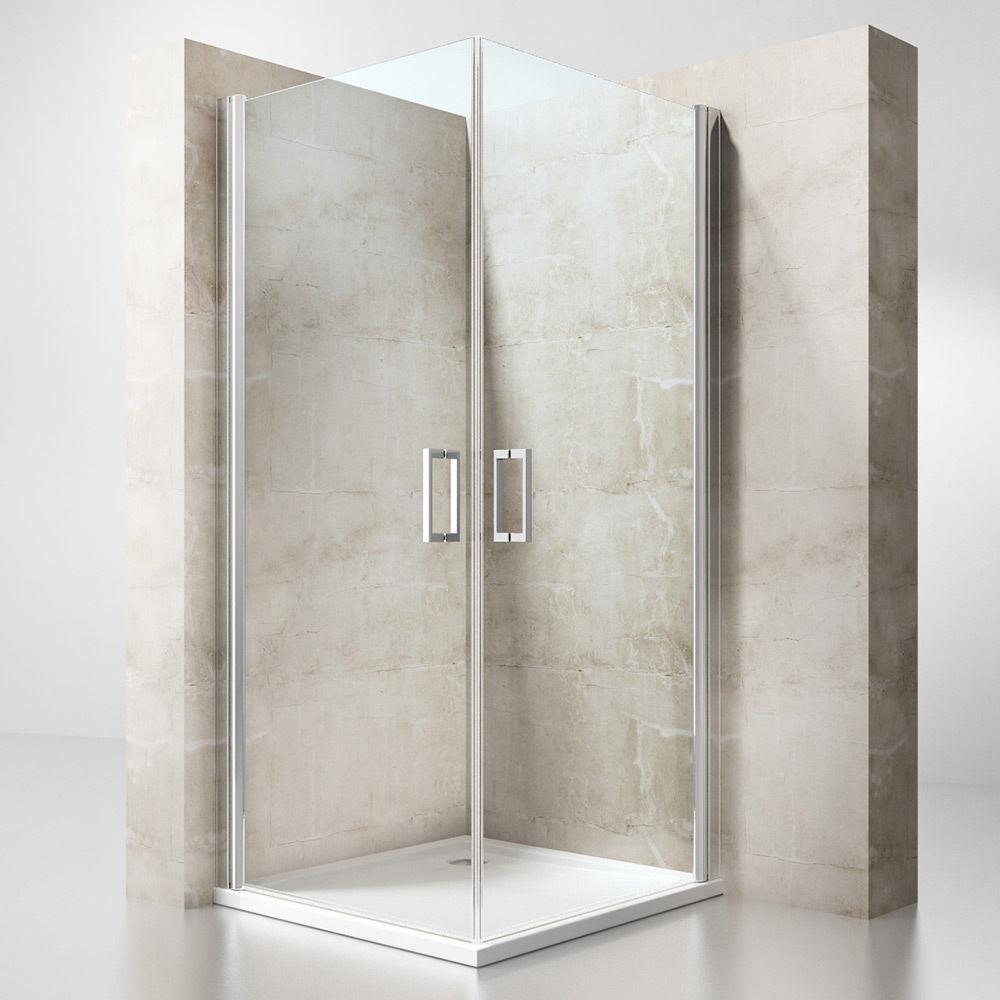 eckeinstieg duschabtrennung duschkabine duschwand nano glas duschwanne rav01 ebay